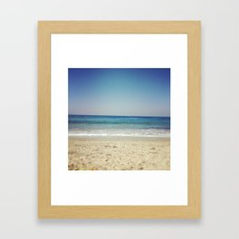 Strands Beach, CA Framed Art Print