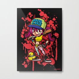 DIZILLAGU(Gangster girl) Metal Print