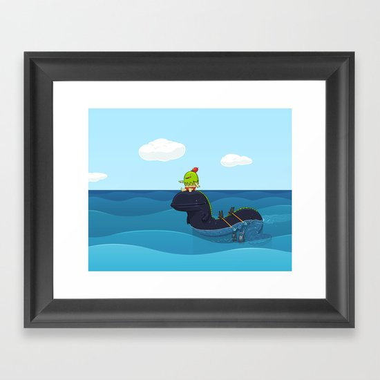 Game Hunter Framed Art Print
