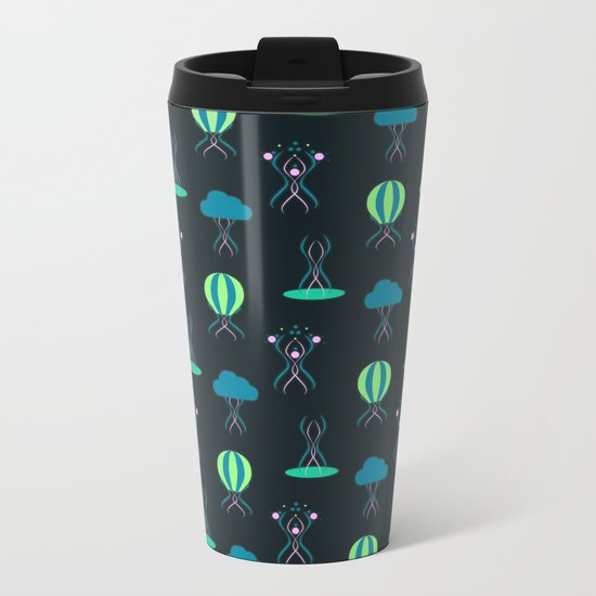 Bioluminescence Metal Travel Mug