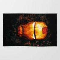 iron man Area & Throw Rugs featuring Iron Man by Sirenphotos