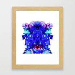 Jewelled Framed Art Print