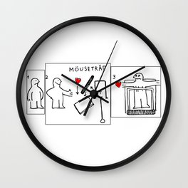 Mousetrap Wall Clock