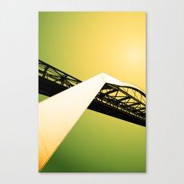 The Tranporter 4 Canvas Print