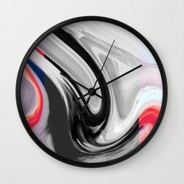 FLAMINGO - BLACK Wall Clock