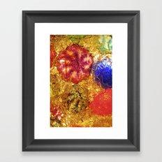 Blown Glass  Framed Art Print