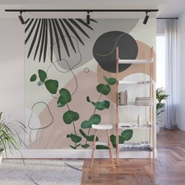 Eucalyptus Fan Palm Finesse #1 #tropical #decor #art #society6 Wall Mural