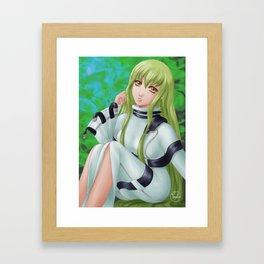 C.C. Framed Art Print