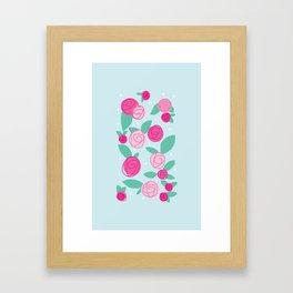 Fairy Roses Framed Art Print