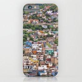 Hilltop Houses Guanajuato iPhone Case