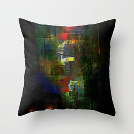 Buried memories Throw Pillow