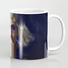 The Girl With The Blue Earring Coffee Mug
