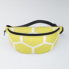 Honeycomb pattern - lemon yellow Fanny Pack