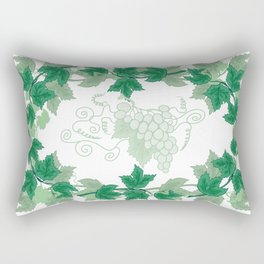 Abstract frame from grapevines Rectangular Pillow