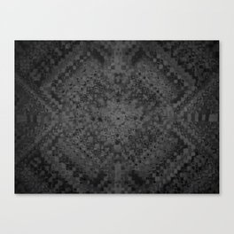 Yellow grey scale Canvas Print