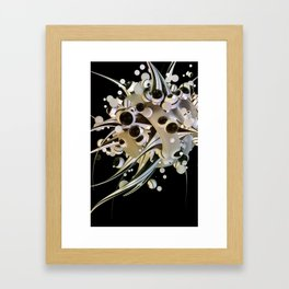 Artificial life forms Framed Art Print