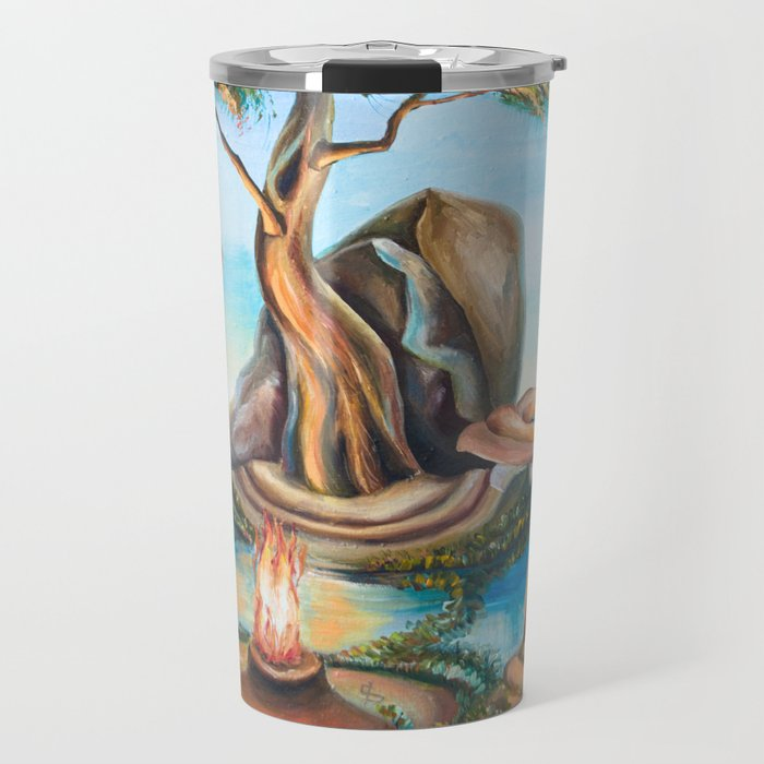 Shaman fire Travel Mug