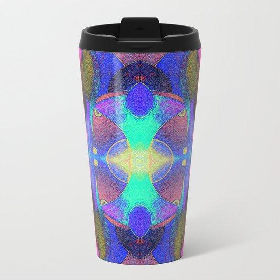 Mandala H II Metal Travel Mug