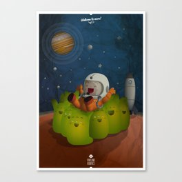 Welcome to mars! Canvas Print