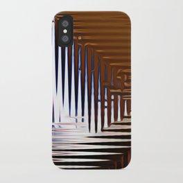 Bright Grid iPhone Case