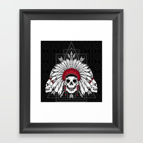 Southern Death Cult Framed Art Print