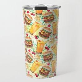 burgers, juices & fries Travel Mug