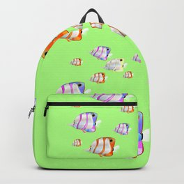 Tropical fish lime edition Backpack