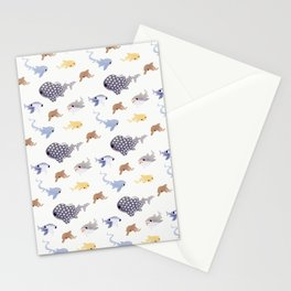Shark pals Stationery Cards
