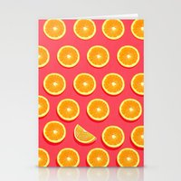 fruit Stationery Cards featuring  FRUIT by mark ashkenazi