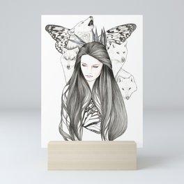 Company Of Wolves Mini Art Print
