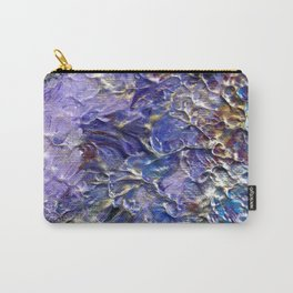 Silver Blue Moon Carry-All Pouch