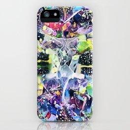 Crow's Paintbrush iPhone Case