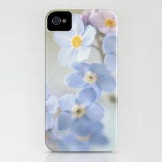 forget me not Slim Case iPhone (4, 4s)
