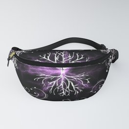 Tree of Life, Purple Universe, Cosmic Tree Fanny Pack
