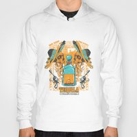 tequila Hoodies featuring Tequila Duel by Tshirt-Factory
