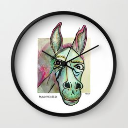 Pablo Pic-Ass-O Wall Clock