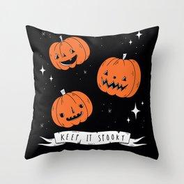 Keep It Spooky Throw Pillow