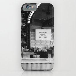 Get to the Chowder Do It Now iPhone Case