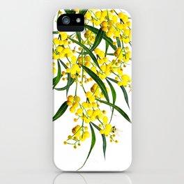 The Golden Wattle iPhone Case