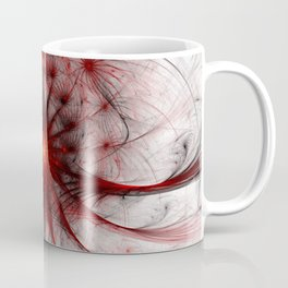 Crown of Thorns - Abstract Fractal Artwork Coffee Mug