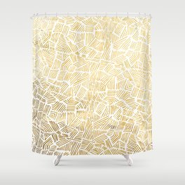 Inca Sun Shower Curtain