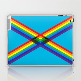 crossing rainbows Laptop & iPad Skin