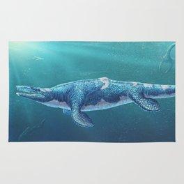 Tylosaurus Pembinensis Restored Rug