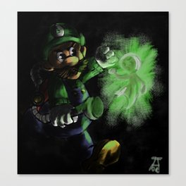 I Should Probably Give That A Quick Vacuuming... Canvas Print