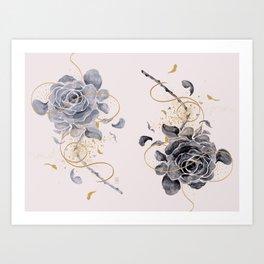 i dreamt of love Art Print