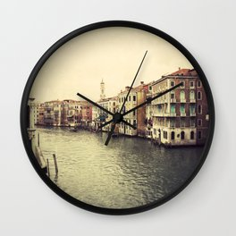 Grand Canal in Venice Wall Clock