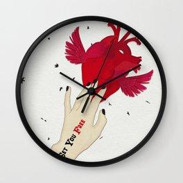Set you free Wall Clock
