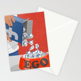 Give your ego some likes Stationery Cards