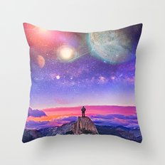 Whatever's Out There Throw Pillow