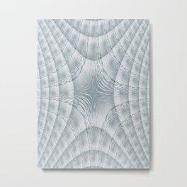 Vibrating Water Metal Print